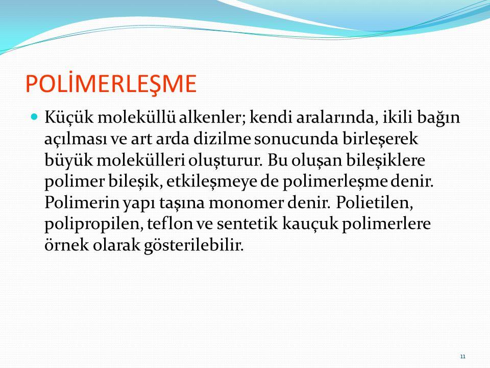 BAZI POLİMER ve DOĞAL ÜRÜNLERİN KISALTMALARI PL polyester (polyester) PA poliamit (naylon) PE polietilen SE silk (ipek) WO wool (yün) WM moher 12