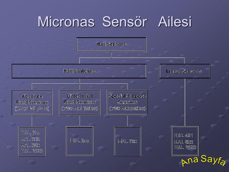 Micronas Sensör Ailesi