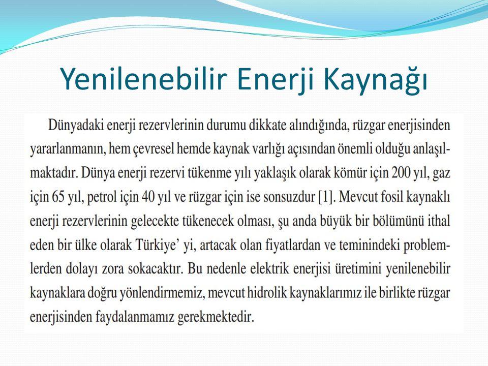 RÜZGAR ENERJİSİ NEDİR.