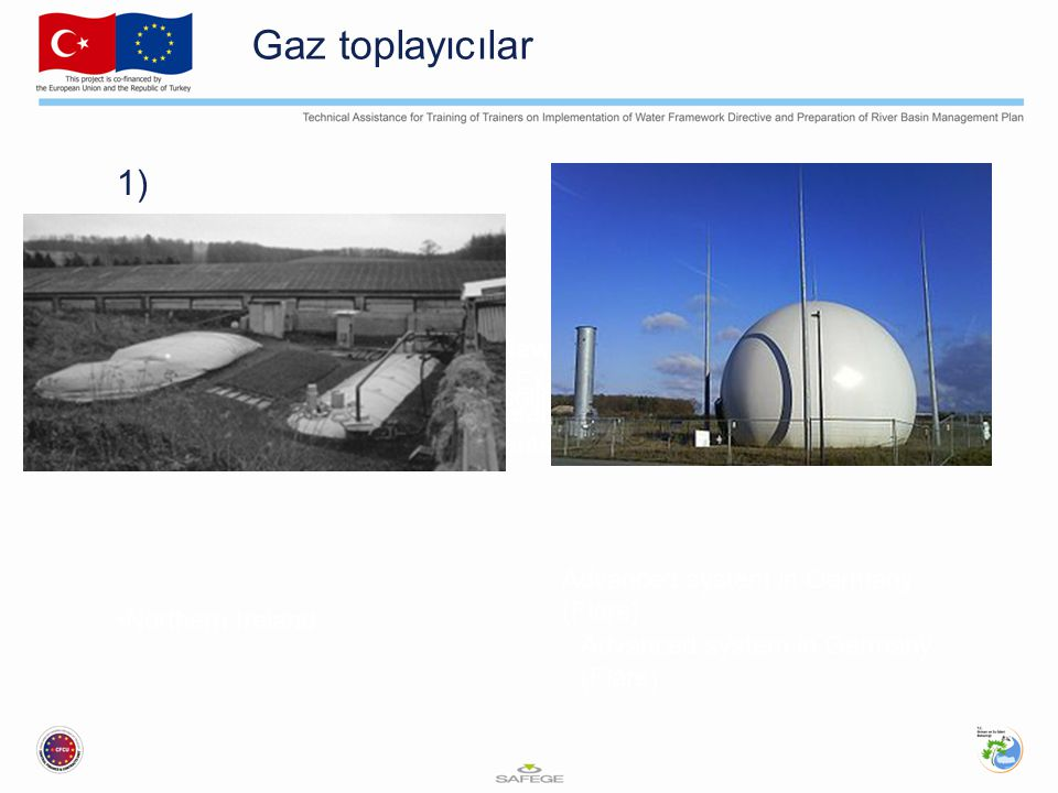 Gaz toplayıcılar 1) Overview Case Study Examples Lessons Learnt Nine Key Components of an EWERS Gas collectors Northern Ireland Advanced system in Germany (Flare)