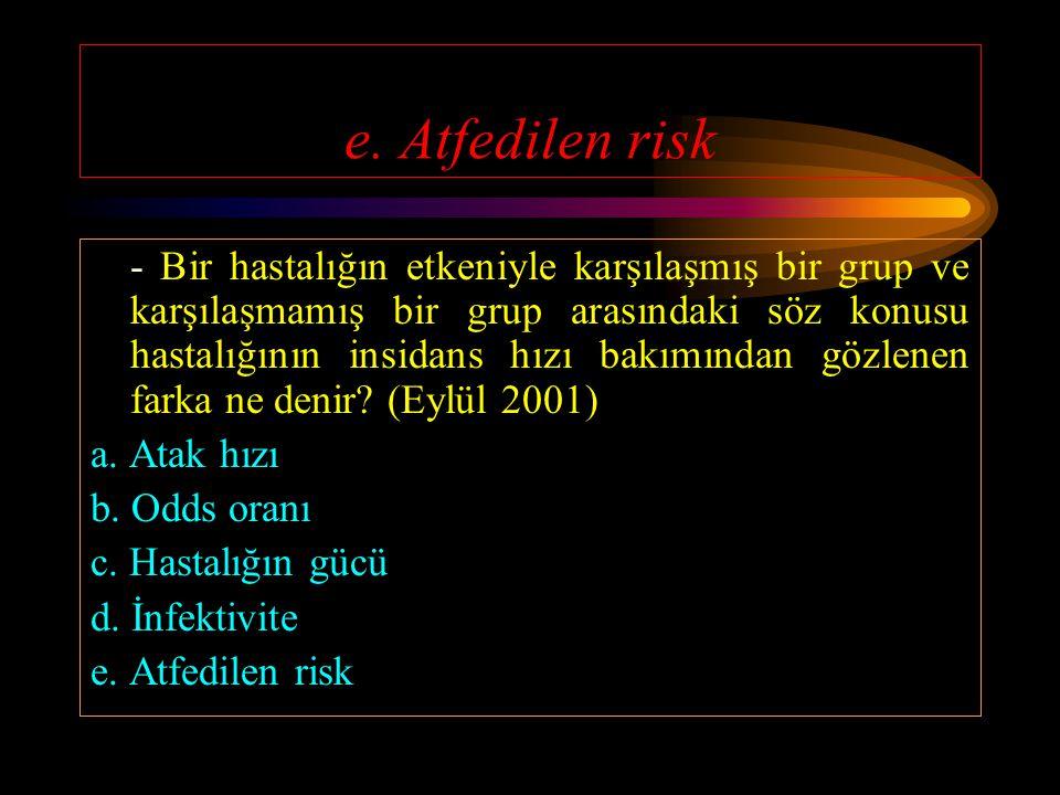 b. Tüberkülozlu anne - Aşağıdakilerden hangisi Perinatal bebek ölüm sebeplerinden değildir? (Eylül 2001) a. Konjenital malformasyonlar b. Tüberkülozlu