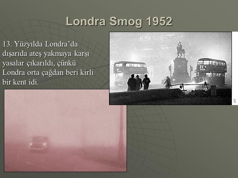 Londra Smog 1952