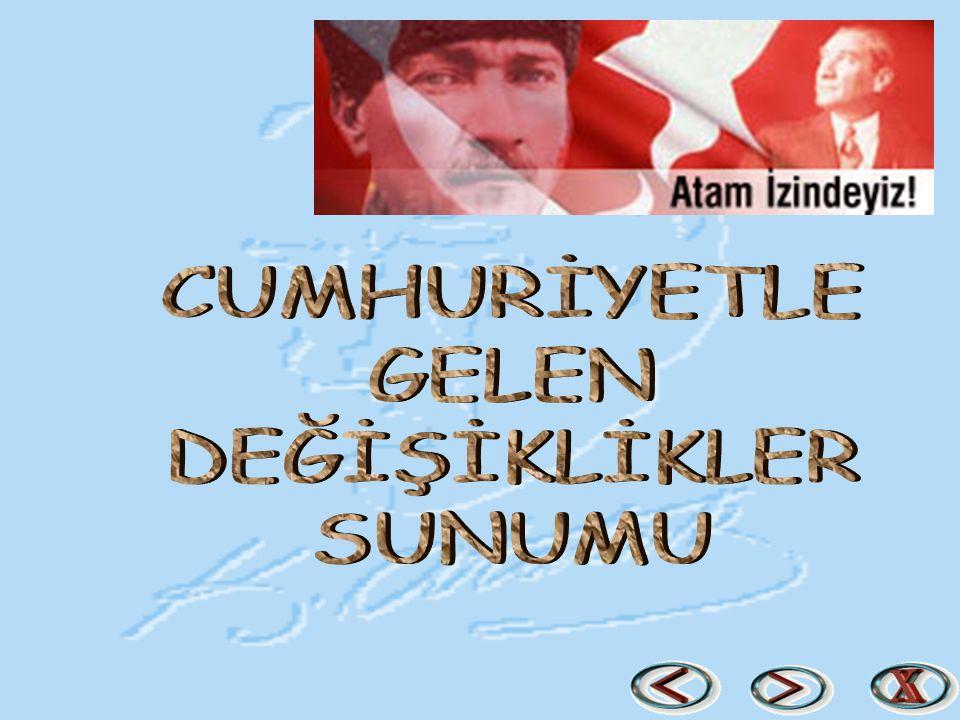 ÜNİVERSİTE ÖĞRENİMİNİN DÜZENLENMESİ Türkiye de ilk üniversite İstanbul da Darülfünun adıyla kurulmuştur.