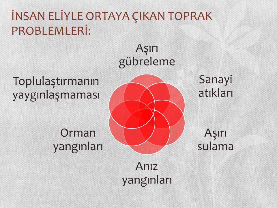 AŞIRI GÜBRELEME Türkiye de tarımın en temel problemlerinden biri, gübre ve ilaca harcanan paradır.