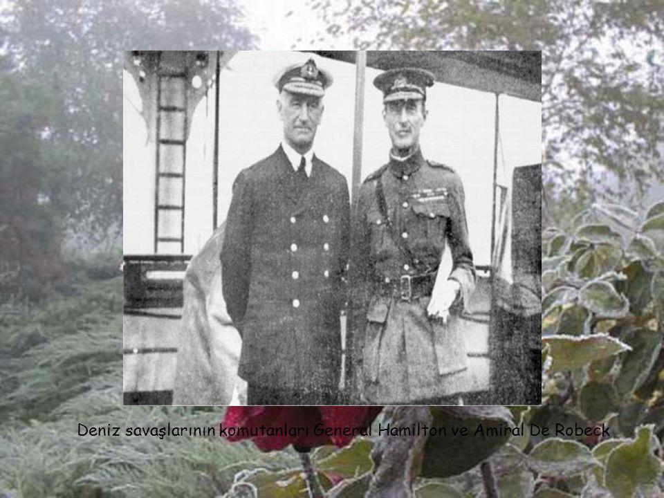 Alman ve Türk Paşalar Gelibolu Yarımadası'ndaki tabyaları denetliyor (1915)