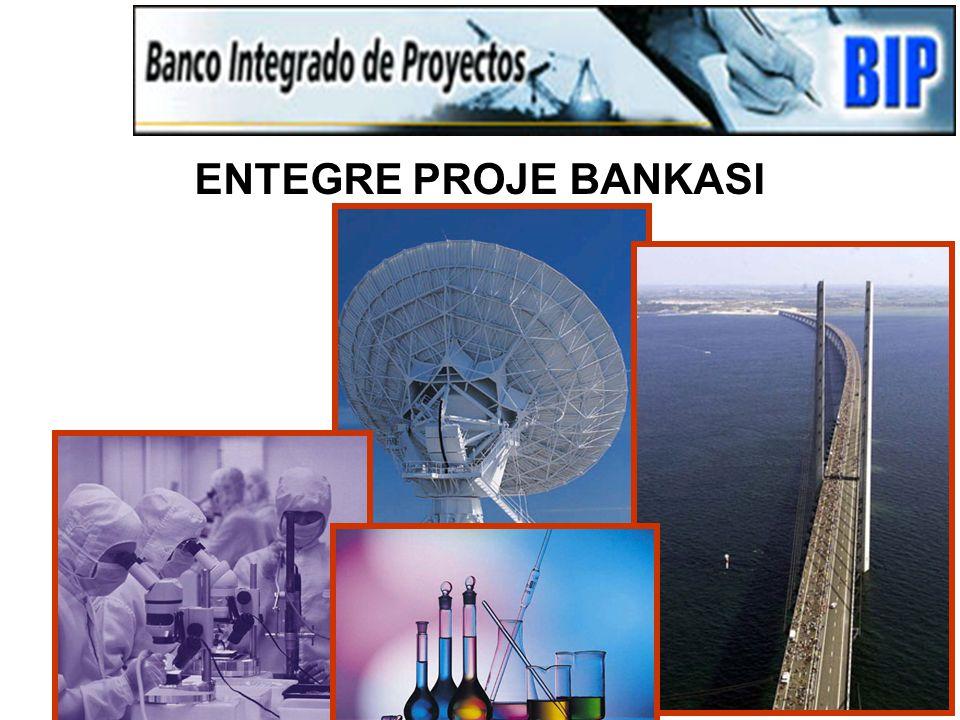 Edgardo S. Mimica (emimica@ucn.cl) 37 ENTEGRE PROJE BANKASI (I.B.P): Bilgisayarlı bilgi sistemi ana desteği ve NIS yönetim aracı Ulusal, vilayet ve be