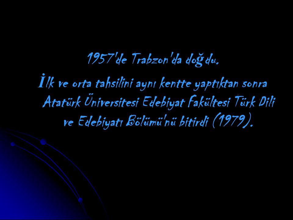 1957 de Trabzon da do ğ du.
