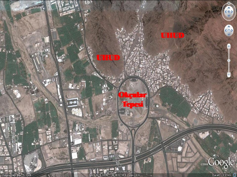 Uhud Savaşı ( H3 / 625) O esnada Hz.Peygamber'i gören Ka'b b.