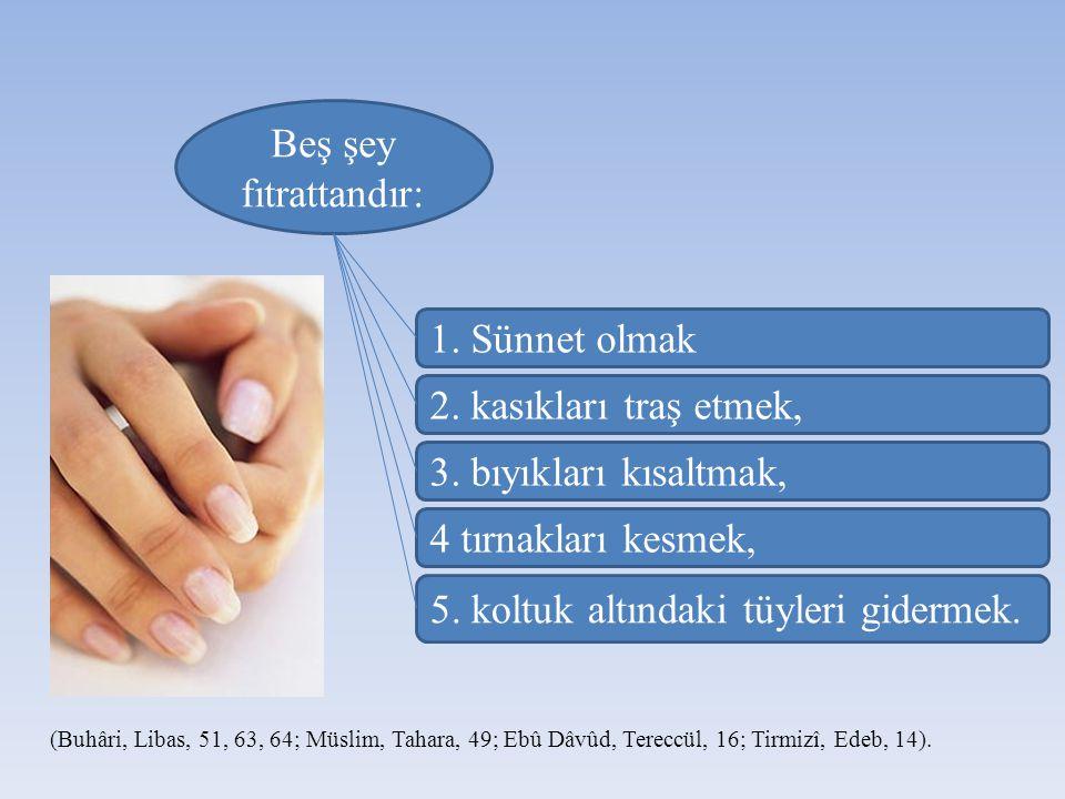 Her müslümanın yedi günde bir yıkanması Allah ın onun üzerinde hakkıdır. (Müslim, Cuma 9).