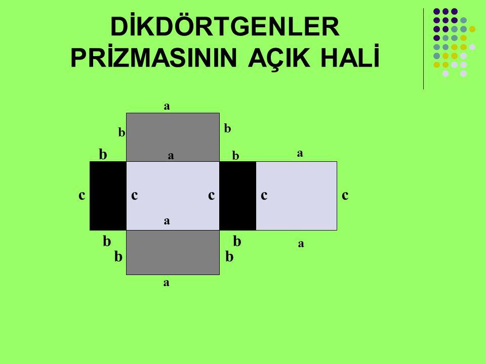 KÜP Bütün yüzleri karesel bölge olan dik prizmaya küp denir. Hacmi(V) = a³
