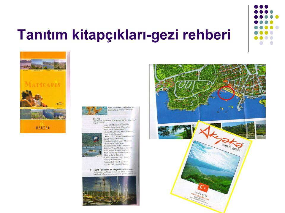 Tanıtım kitapçıkları-gezi rehberi