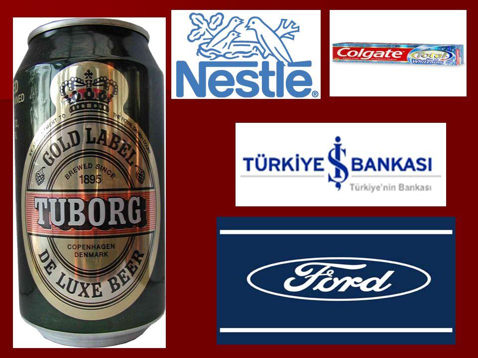 Masonların sahip olduğu şirketlerin bazıları: İş Bankası- Garanti Bankası İş Bankası- Garanti Bankası Pepsi –Coca cola Pepsi –Coca cola Renault – Ford