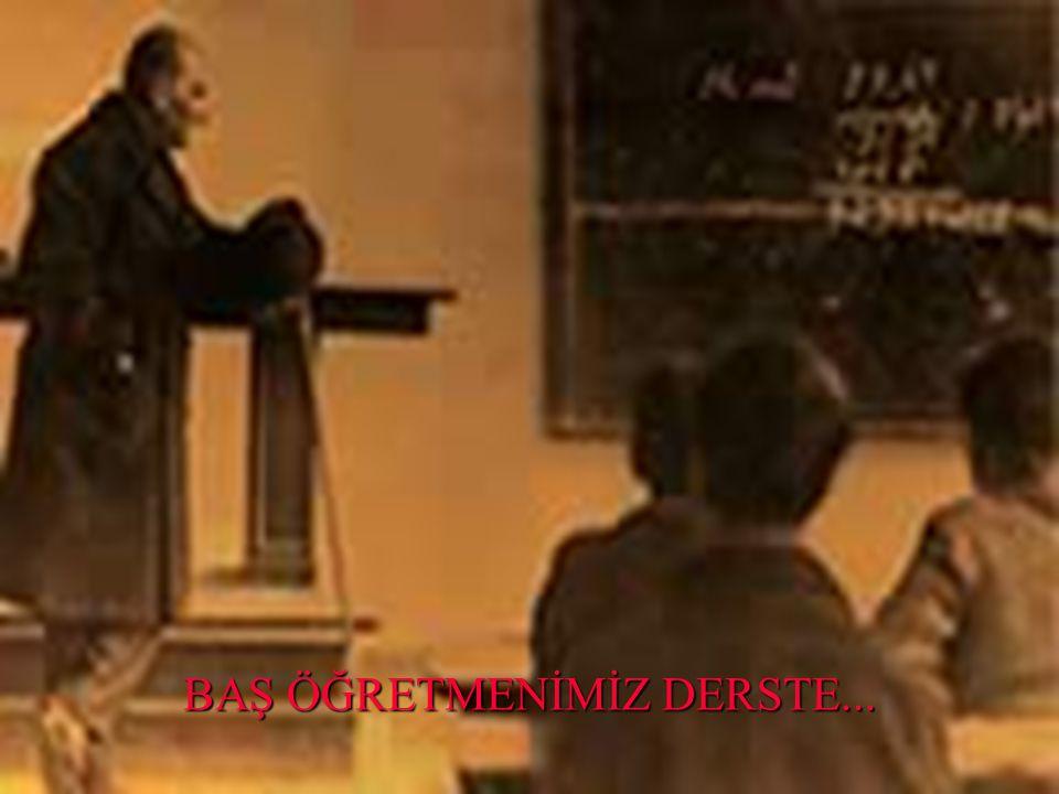 Öğretmenler! Cumhuriyet sizden düşünceleri özgür, vicdanı özgür, kültürü özgür kuşaklar ister