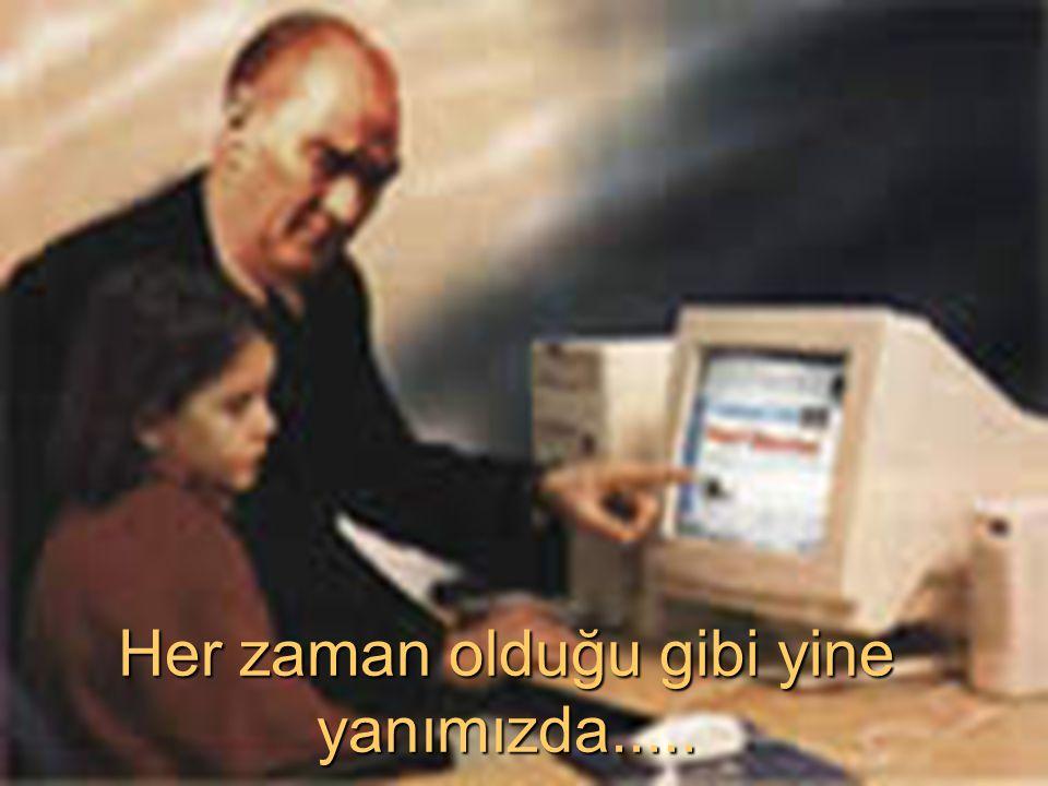 BAŞ ÖĞRETMENİMİZ DERSTE...