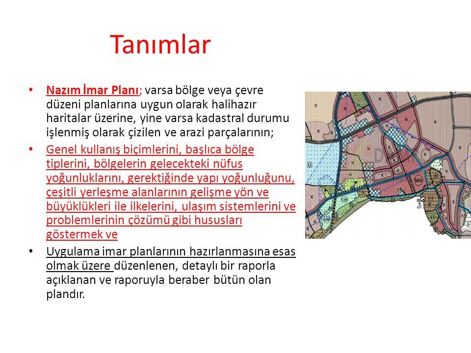 Uygulama İmar Planı; tasdikli halihazır haritalar üzerine varsa kadastral durumu işlenmiş olarak nazım imar planı esaslarına göre çizilen ve çeşitli bölgelerin yapı adalarını, bunların yoğunluk ve düzenini, yolları ve uygulama için gerekli imar uygulama programlarına esas olacak uygulama etaplarını ve diğer bilgileri ayrıntıları ile gösteren plandır
