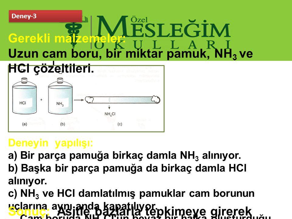3.1.3 Kimyasal Bağların Oluşum Mekanizması Elektrostatik Çekim: Sadece 2 cins elektrik yükü vardır.