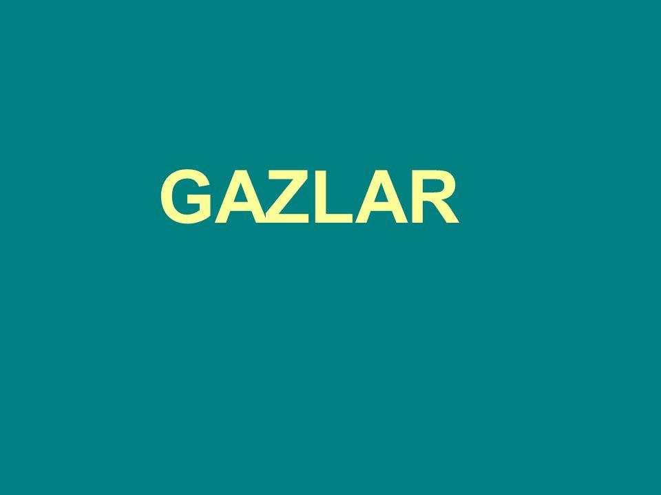 İDEAL GAZLARIN ÖZELLİKLERİ 1.