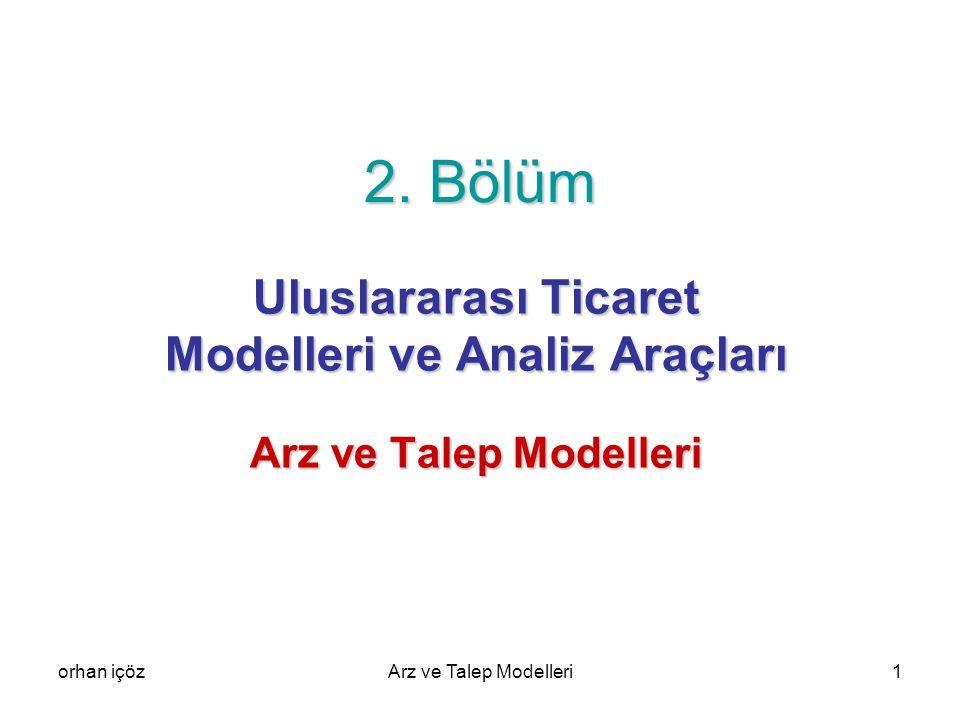 orhan içözArz ve Talep Modelleri42 Tüketici S1 noktasında OA kadar X malı, OB kadar Y malı tüketerek i0 eğrisinin gösterdiği fayda düzeyine erişmektedir.