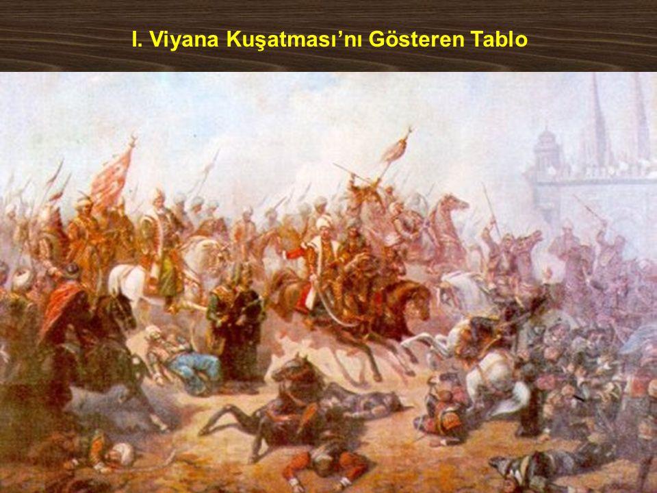 I. Viyana Kuşatması'nı Gösteren Tablo