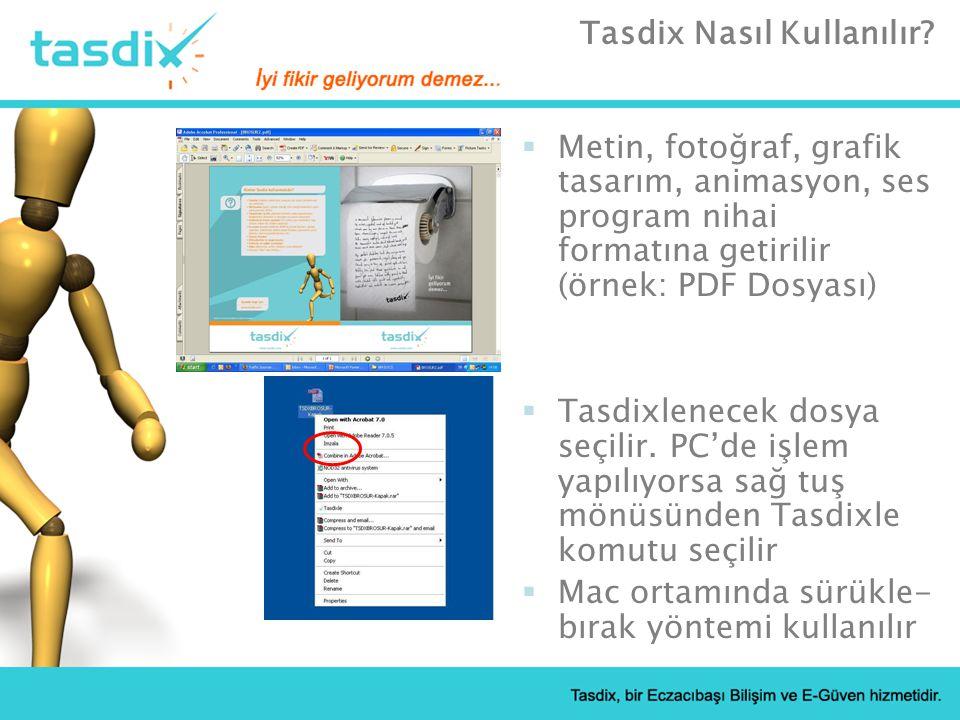 Tasdix Nasıl Kullanılır.