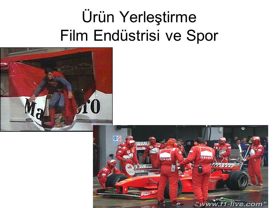 Ürün Yerleştirme Film Endüstrisi ve Spor
