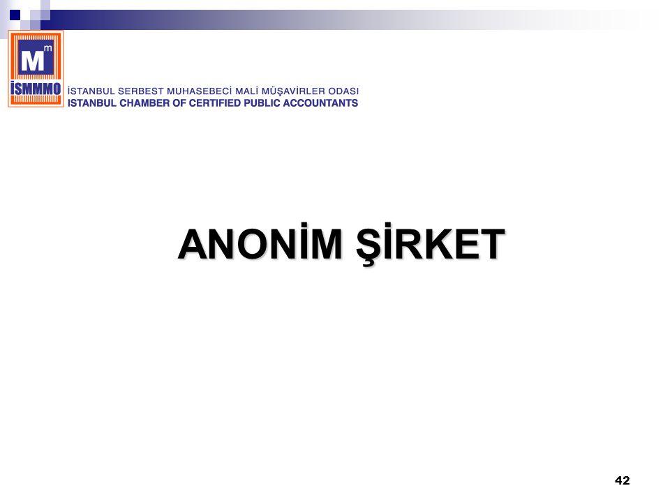 42 ANONİM ŞİRKET