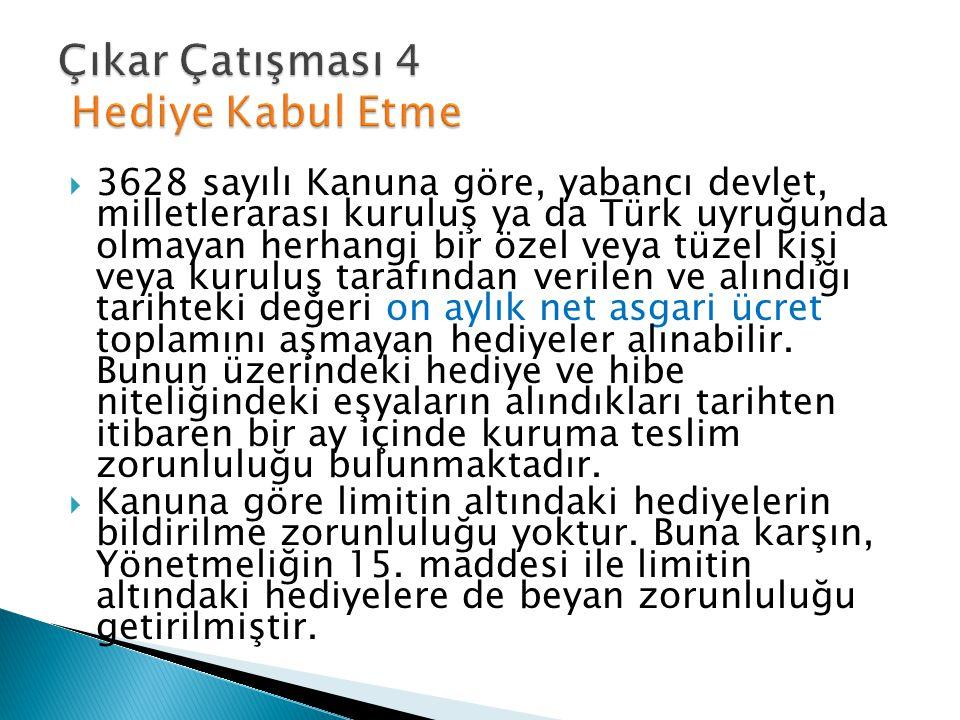  3628 sayılı Kanuna göre, yabancı devlet, milletlerarası kuruluş ya da Türk uyruğunda olmayan herhangi bir özel veya tüzel kişi veya kuruluş tarafınd