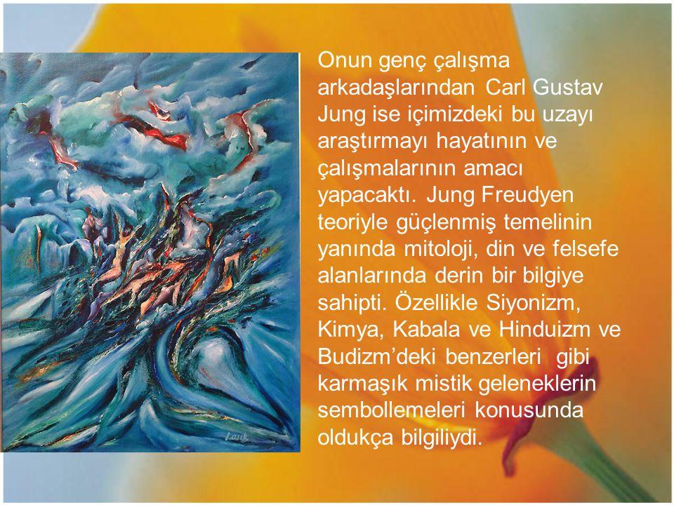 Onun genç çalışma arkadaşlarından Carl Gustav Jung ise içimizdeki bu uzayı araştırmayı hayatının ve çalışmalarının amacı yapacaktı. Jung Freudyen teor