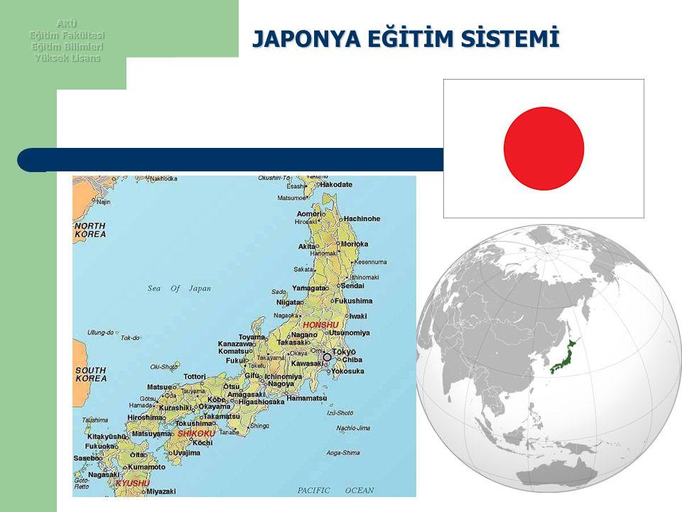 JAPONYA Ethnic groups 98.5% Japanese, 0.5% Korean, 0.4% Chinese, 0.6% other Area:Total 377,944 km 2 (61st) 145,925 sq mi Water (%) 0.8 Population 2010 estimate :127,360,000 (10th) 2004 census 127,333,002 Density 337.1/km 2 (36th) (km2 başına nüfus yoğunluğu) GDP (nominal) 2010 estimate Total $5.273 trillion(2nd) Per capita $41,366(17th) Ülke nüfusunun yaklaşık % 79 u şehirsel nüfustan oluşmaktadır.