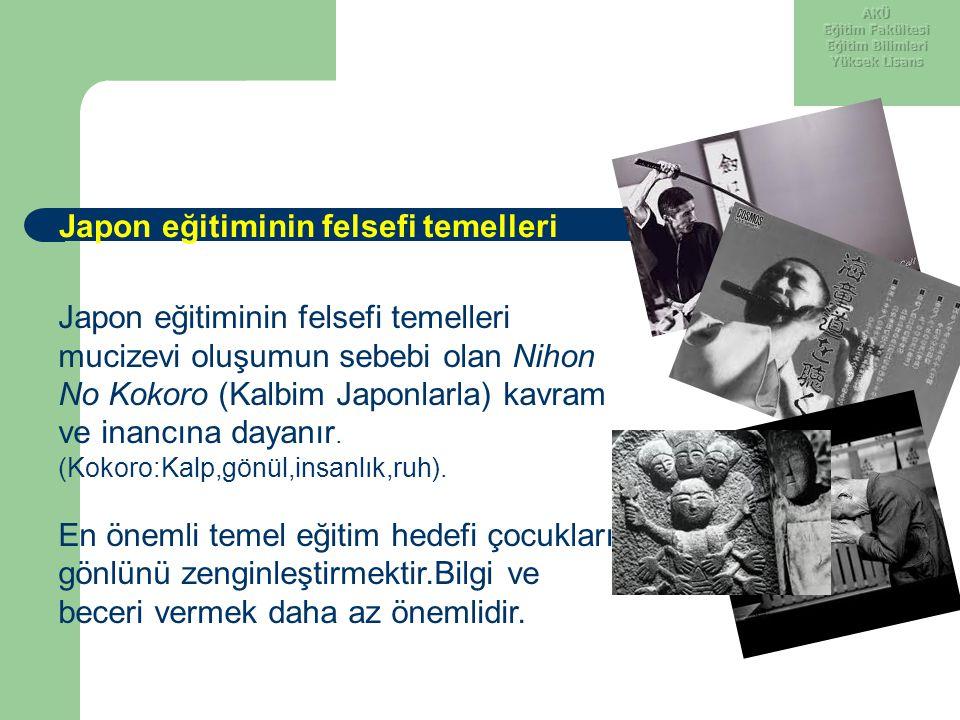 1952'den sonra barış sözleşmesi ile Japonya üzerindeki ABD kontrolü sona ermiş, bu tarihten itibaren eğitim sisteminde ABD'nin zorlamalarıyla yerleştirilen bazı uygulamalar kaldırılmaya çalışılmıştır (Erdoğan, 2003).