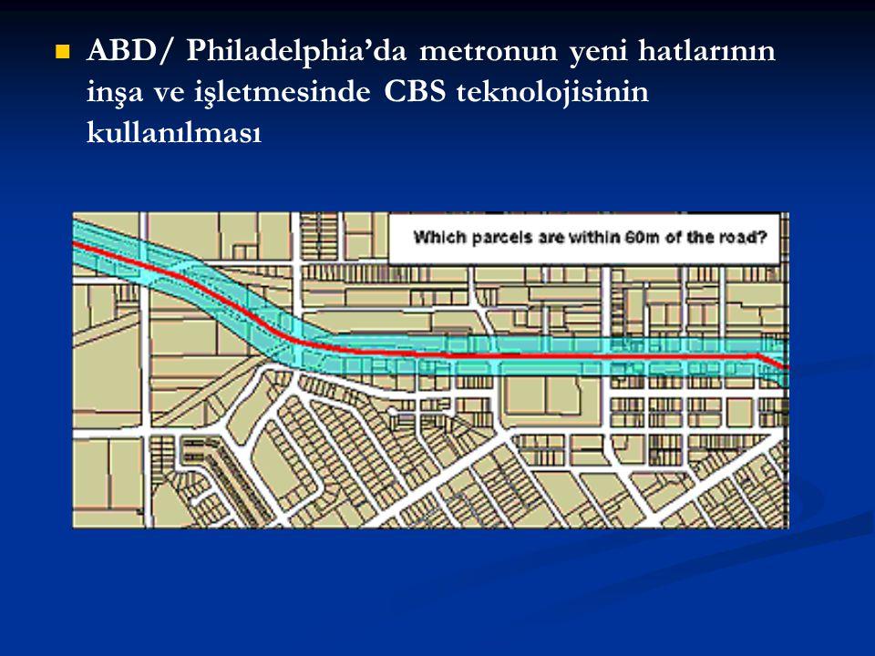 ABD/ Philadelphia'da metronun yeni hatlarının inşa ve işletmesinde CBS teknolojisinin kullanılması