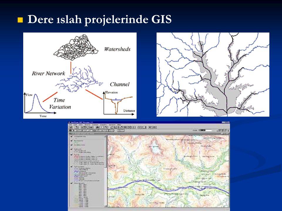 Dere ıslah projelerinde GIS