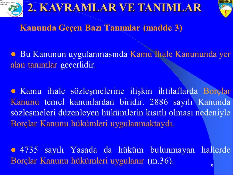 10 (madde 4) 4734 sayılı Kanunun ilkeleri, 4735 sayılı Kanun için de geçerlidir.