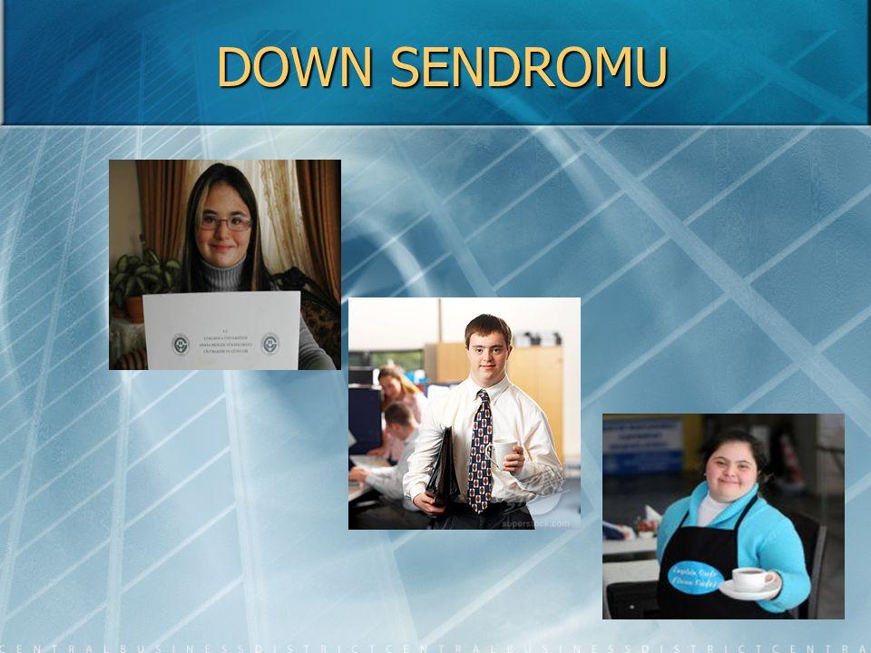 DOWN SENDROMU NEDİR.Down-sendromu en fazla görülen kromozom anomalisidir.