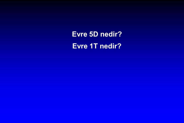 Evre 5D nedir? Evre 1T nedir?