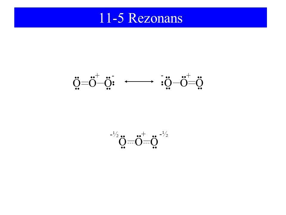11-5 Rezonans O O O O O O + + - - O O O + -½