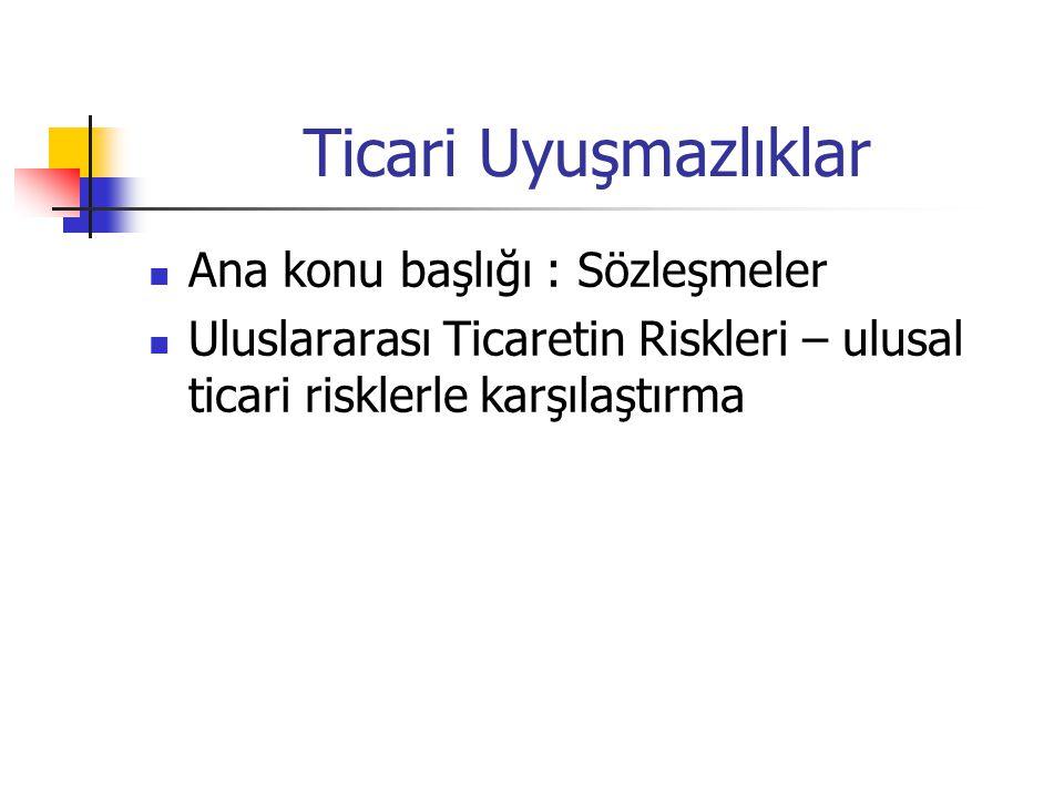 Uluslararası Tahkim FOB İzmir örneğinde paranız ödenmediği için Türkiye'de dava açtınız ve kazandınız.