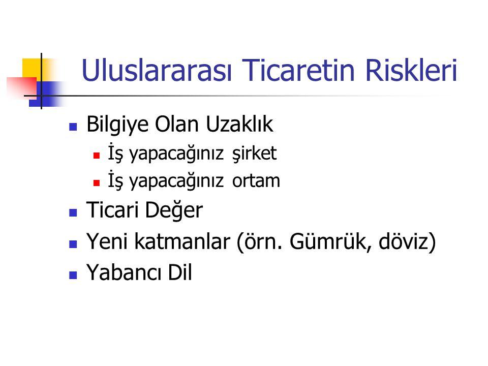Mahkeme Kararlarının Tanınma ve Tenfizi Türkiye ile kararın verildiği ülke arasında KARŞILIKLILIK bulunmalıdır.