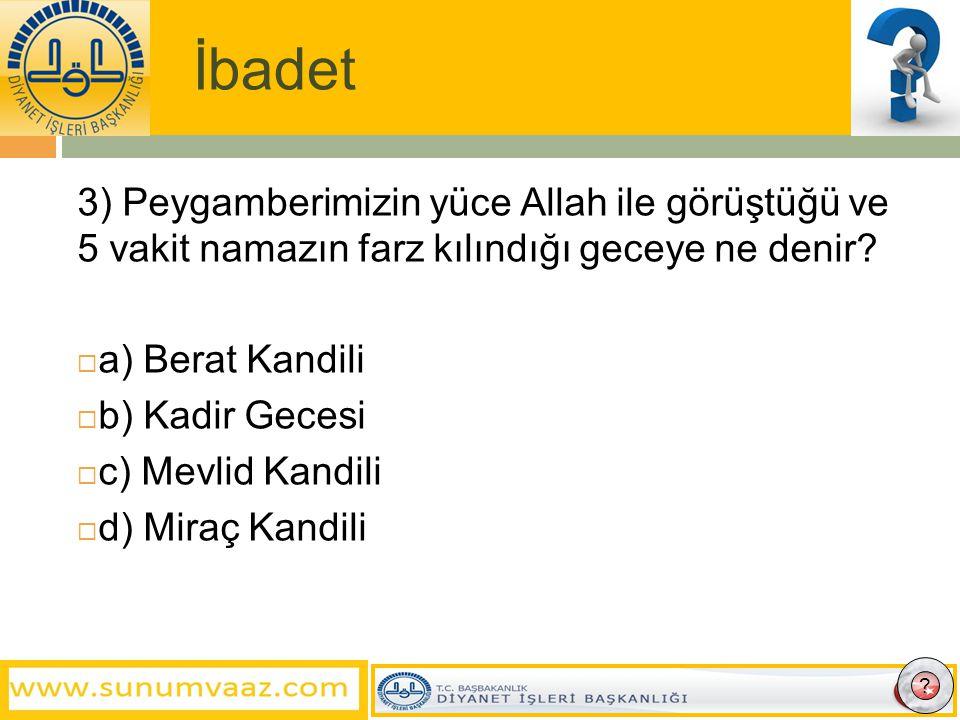 İbadet  44) Ramazan ayında kişi başına verilmesi vacip olan sadaka aşağıdakilerden hangisidir.