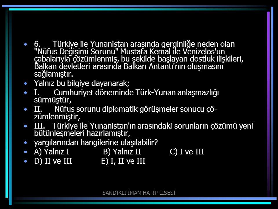 6. Türkiye ile Yunanistan arasında gerginliğe neden olan