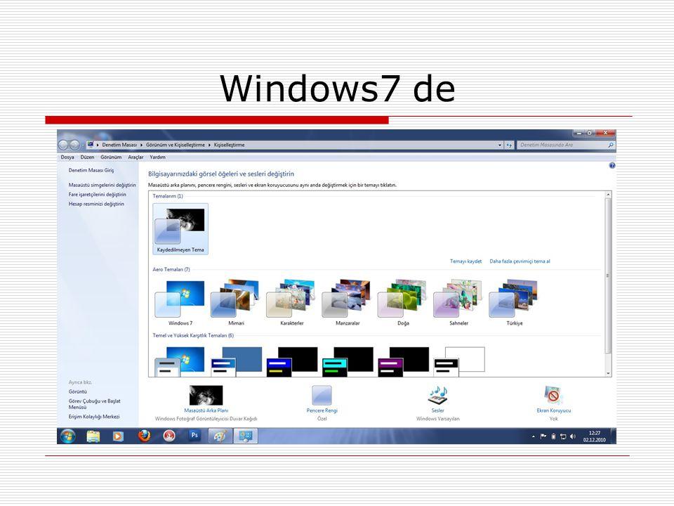 Windows7 de