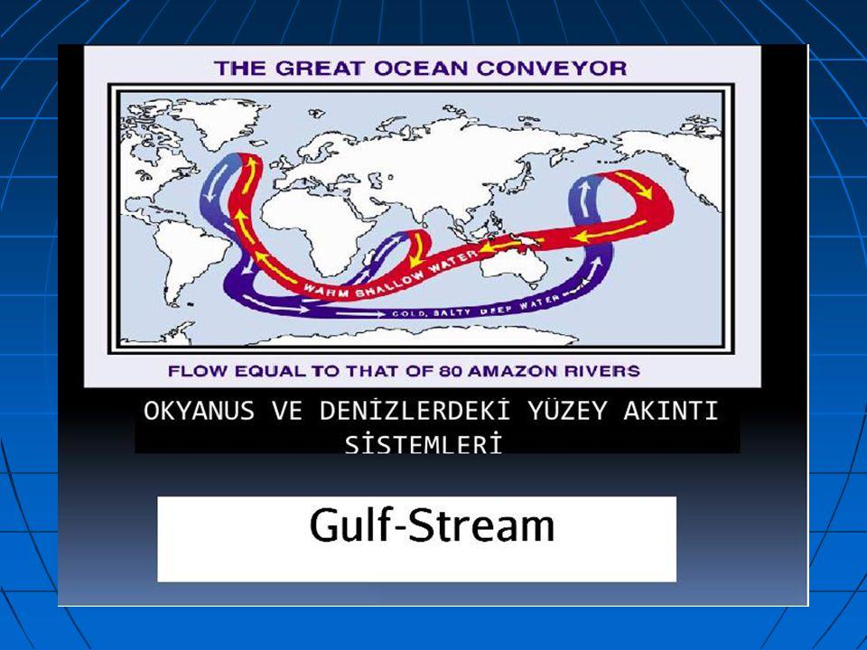 İşte bu sebeplerden biri olan Okyanus Akıntıları sınırlı su kütlesinin belirli bir yönde hareketi olarak tanımlanır.