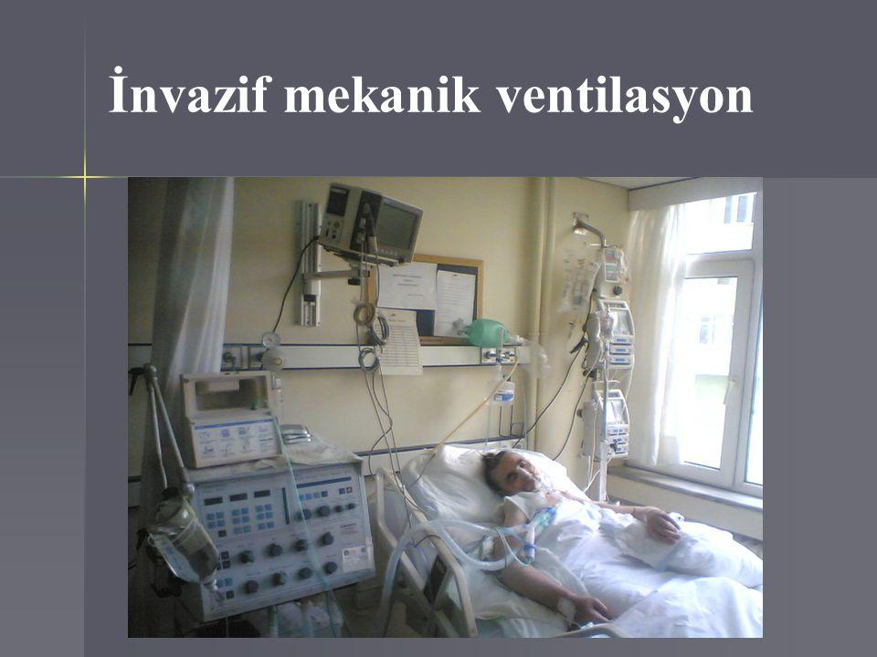 İnvazif mekanik ventilasyon