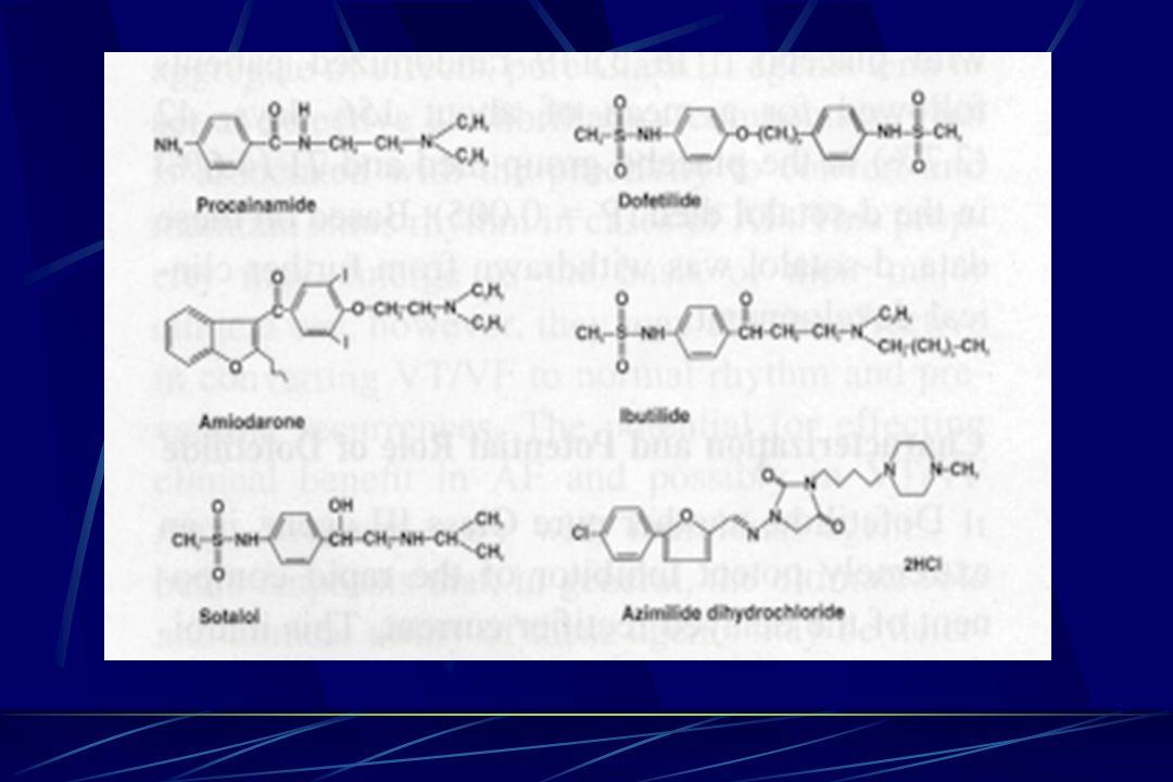 Azimilide Grup III FDA onayı yok.