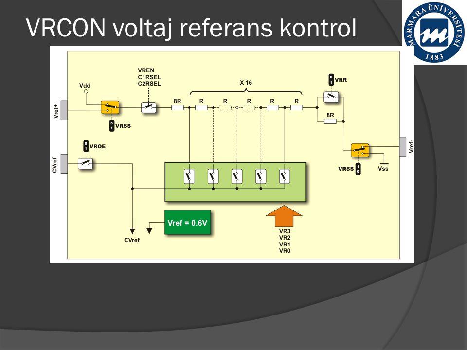 VRCON voltaj referans kontrol