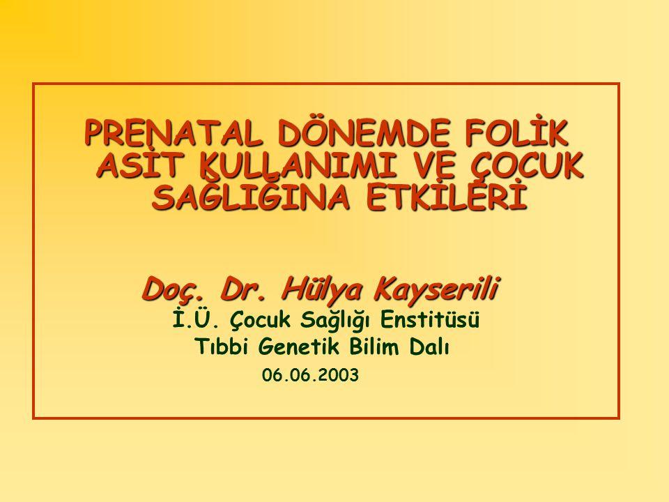 FOLİK ASİT NEDİR .