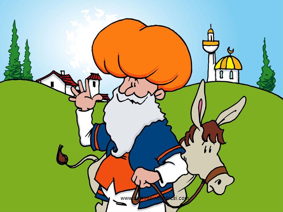 Bir varmis bir yokmus.Türkiye nin bir köyünde Nasrettin Hoca adinda yasli bir adam yasarmis.