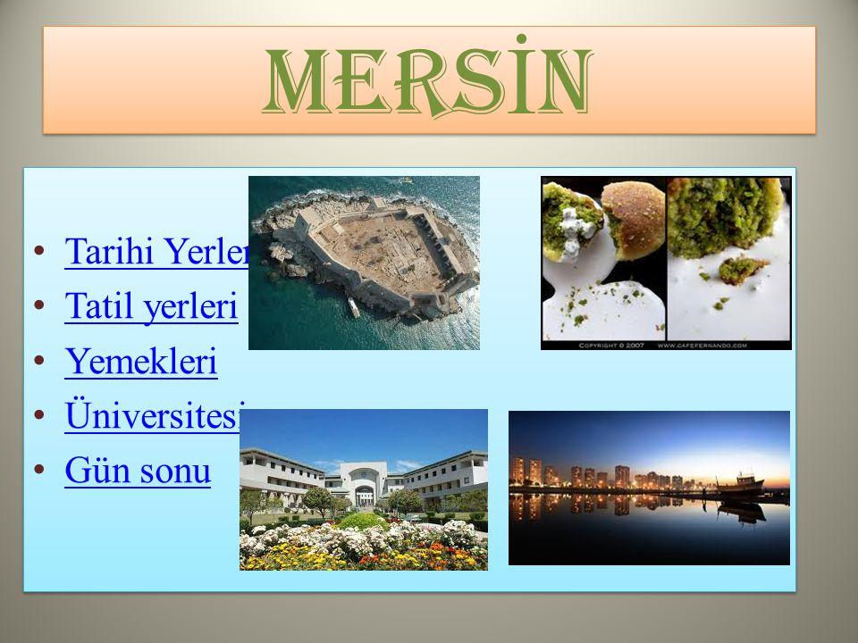 Tarihi Yerler Tatil yerleri Yemekleri Üniversitesi Gün sonu Tarihi Yerler Tatil yerleri Yemekleri Üniversitesi Gün sonu