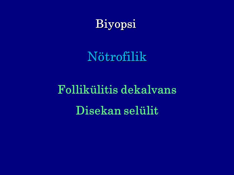 Biyopsi Nötrofilik Follikülitis dekalvans Disekan selülit