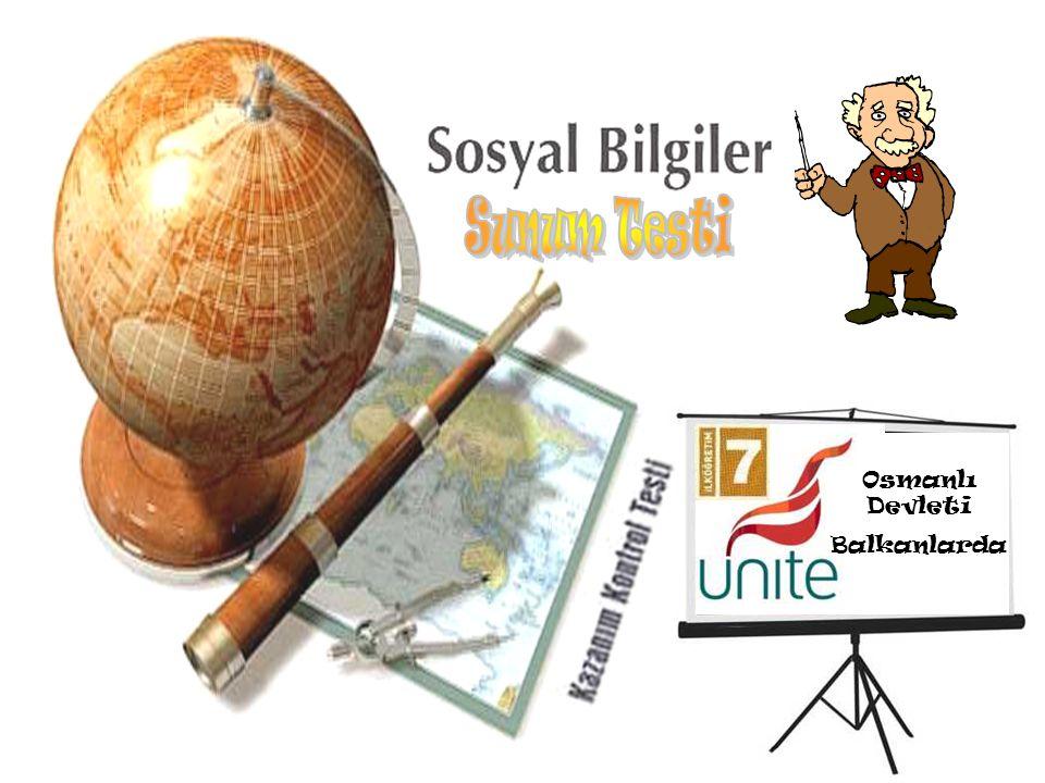 Osmanlı Devleti Balkanlarda